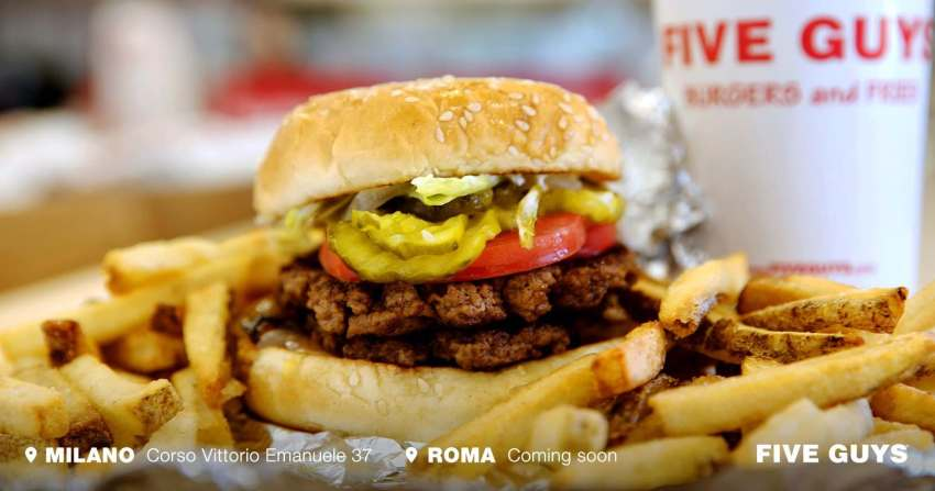 Five Guys Roma
