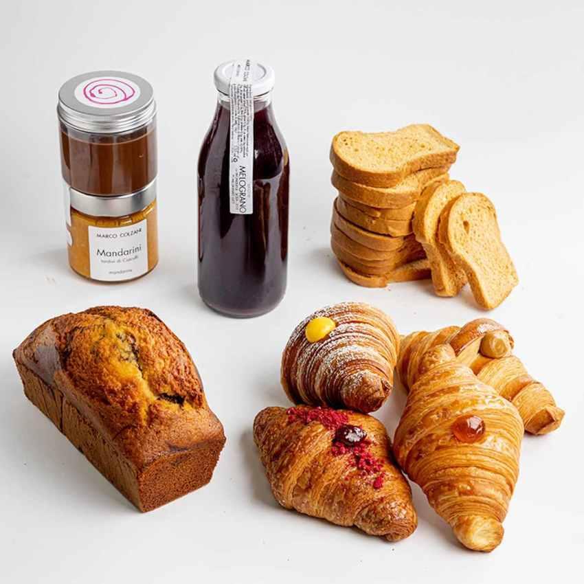 Bompiani Roma delivery colazione