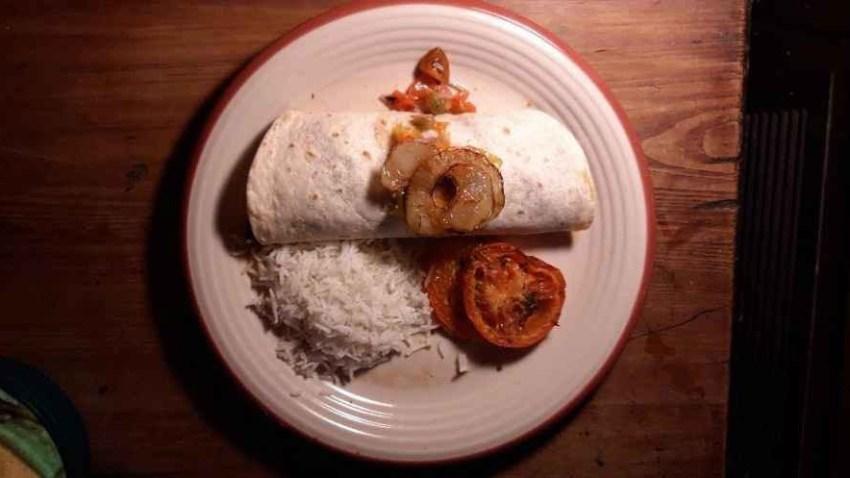 Burrito El Pueblo Roma