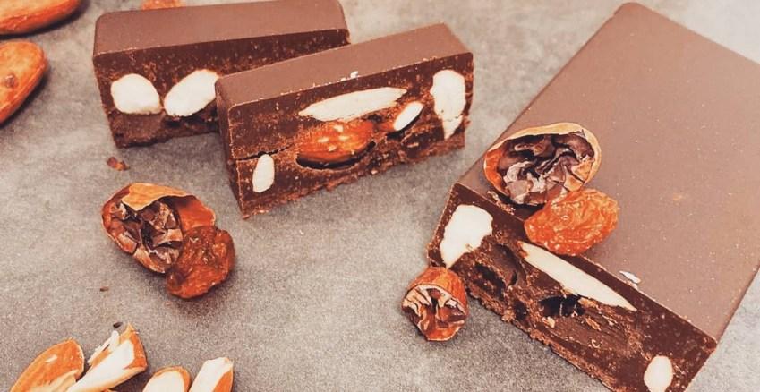 Grezzo Raw Chocolate torrone