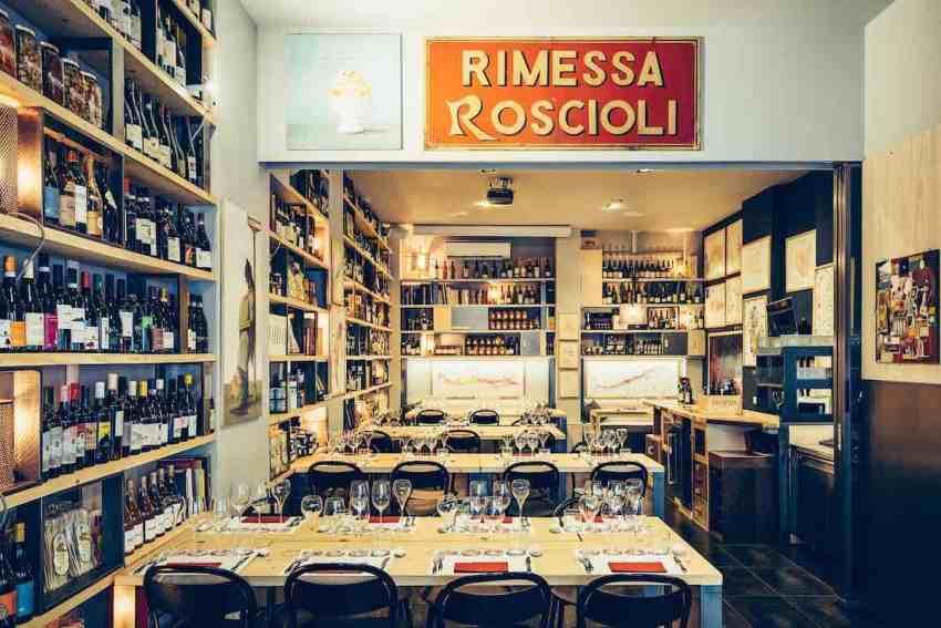 Rimessa Roscioli Roma