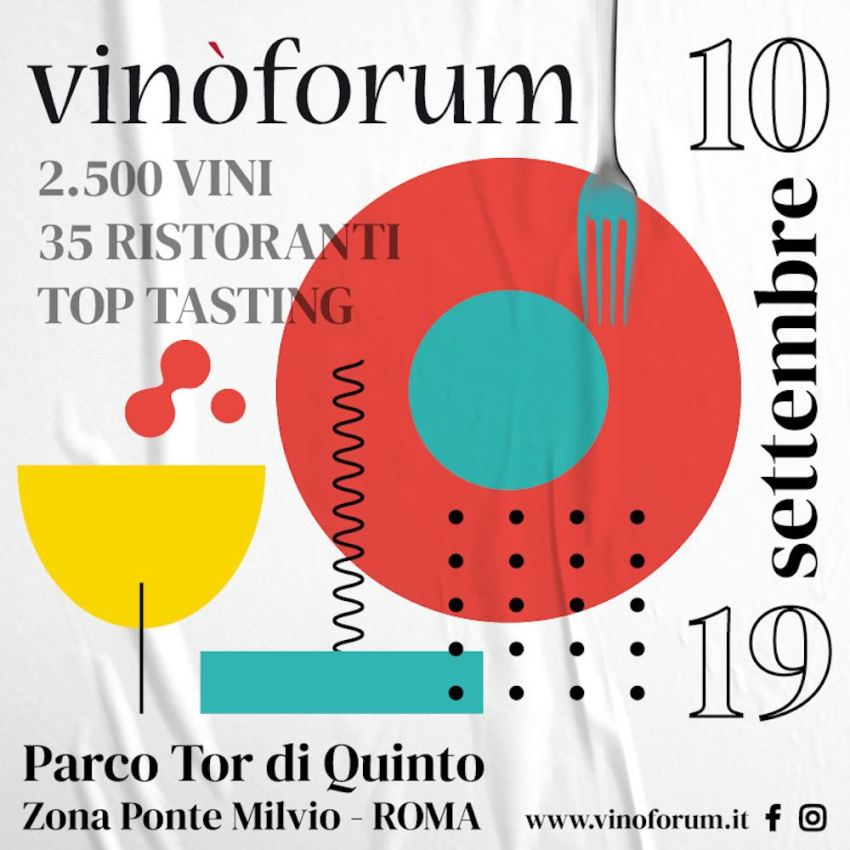 Vinòforum 2021 roma