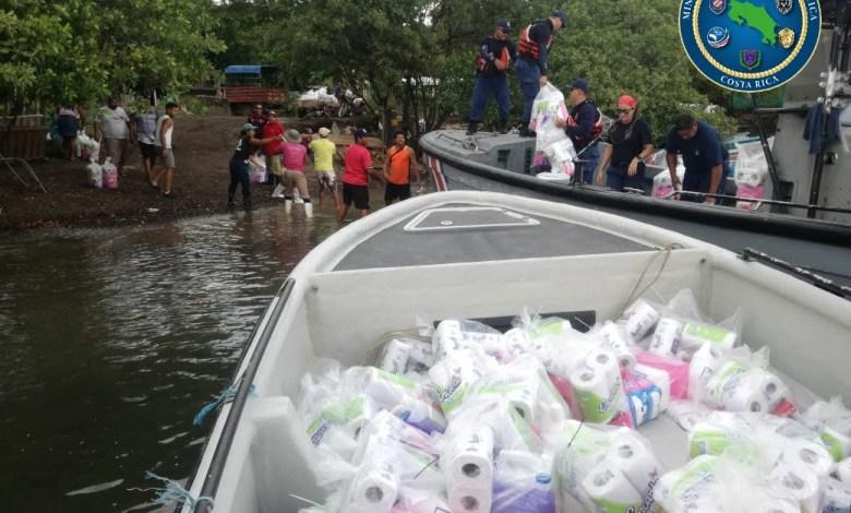 Photo of Familias de las islas del Golfo de Nicoya reciben alimentos y kits de higiene