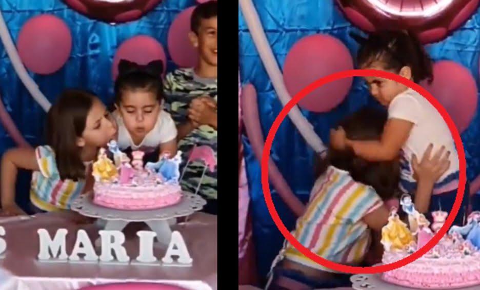 Photo of La historia detrás del video de la niña que sopla el pastel