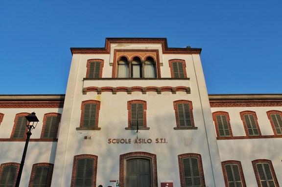 La scuola di Crespi d'Adda