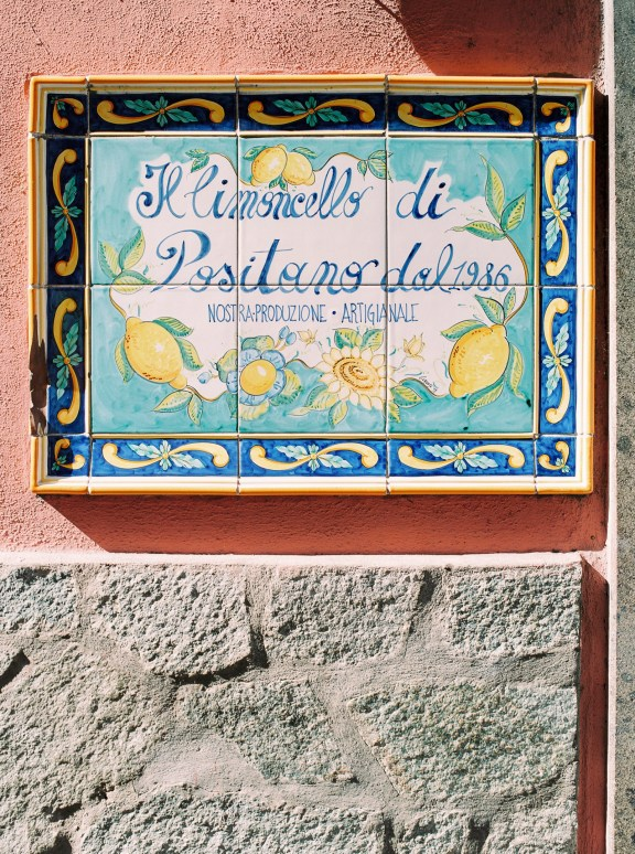 The limoncello of Positano