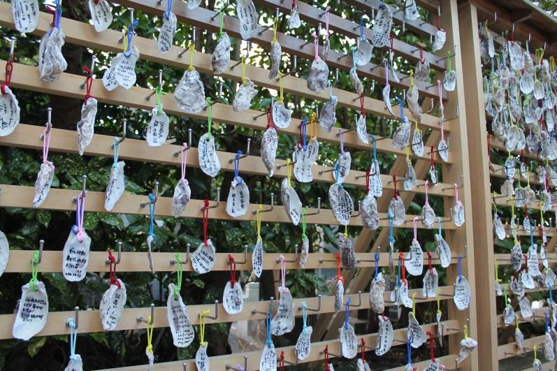 Ema scritti su ostriche, Kamakura
