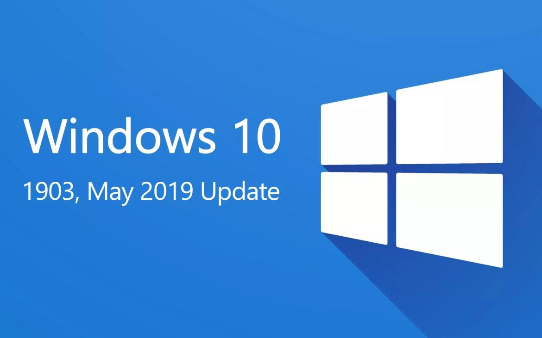 Windows 10, 1903