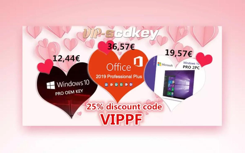 VIP-SCDkey per San Valentino