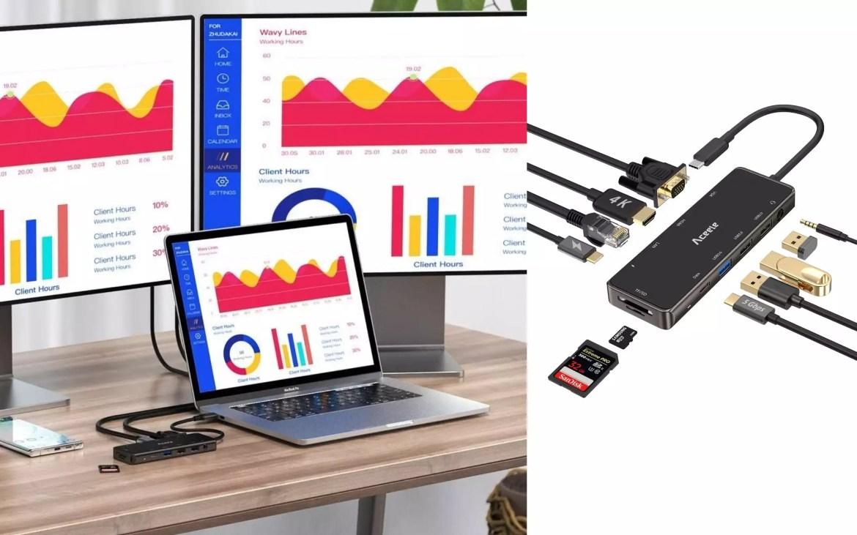 HUB USB Type-C 11 in 1 Aceele - 2