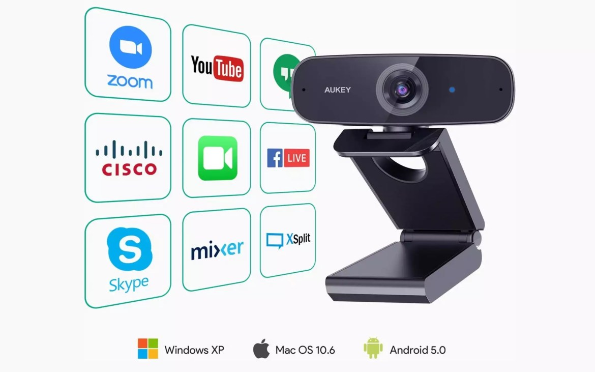 Webcam Aukey PC-W3 - 2
