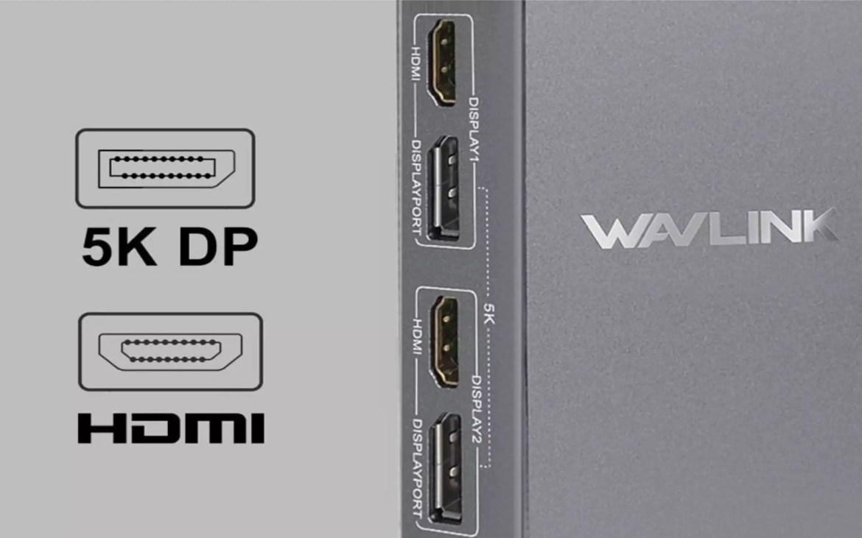 Docking Station Wavlink 5K 6 USB - 2