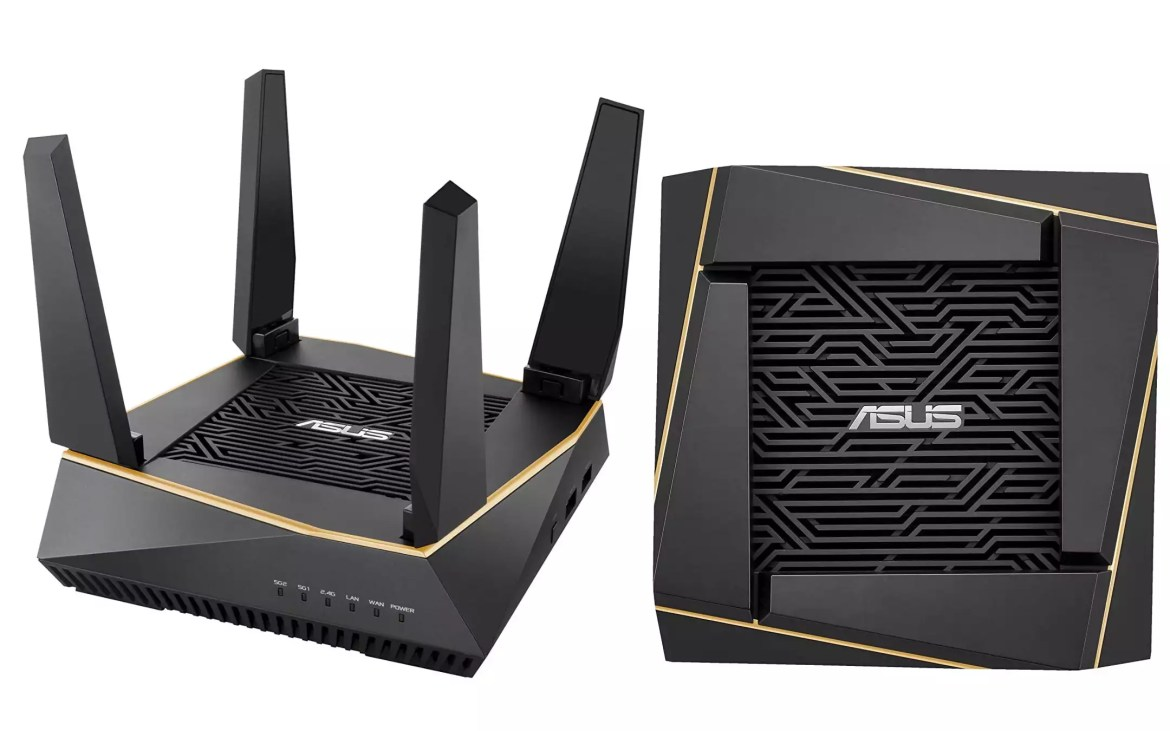 Router Wi-Fi 6 Asus RT-AX92U - 2