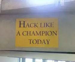 un cartello