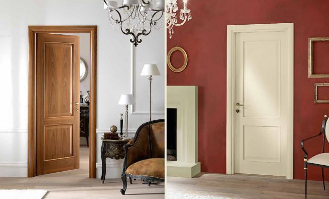 Porte da interno in legno massello o tamburato a Terni