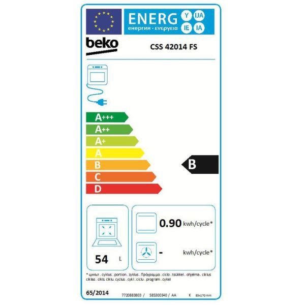 etichetta energetica css42014fs