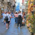 nel centro storico seguendo l'itinerario napoli in un giorno