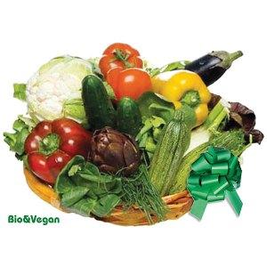 Consegna a domicilio cesto regalo con verdura bio online