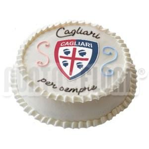 torta squadra del cuore Cagliari