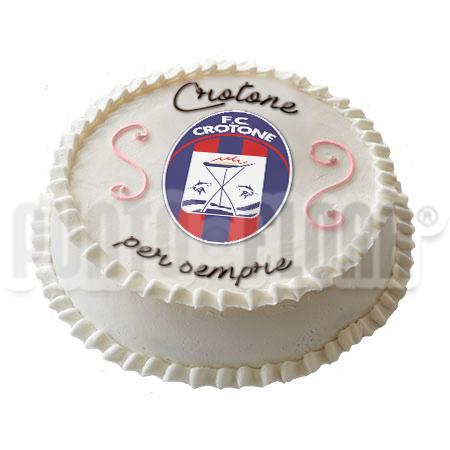 torta squadra del cuore Crotone