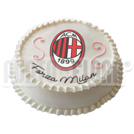 Torta squadra del cuore Milan