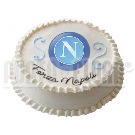Torta squadra del cuore Napoli