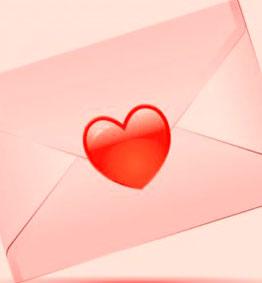 Consegna fiori con biglietto d'Amore a domicilio online