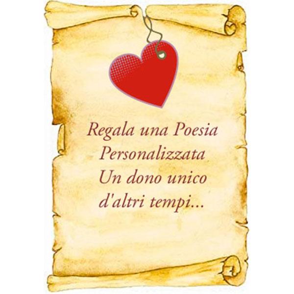 regala una poesia personalizzata online