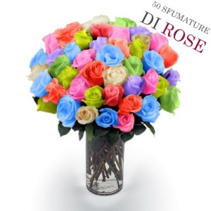 50 rose colorate
