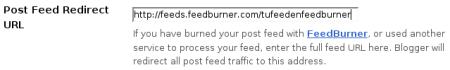 integracion de blogger con feedburner