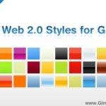 Degradados web 2.0 para Gimp