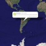 YouTit te muestra en un mapa los Tweets de una cuenta