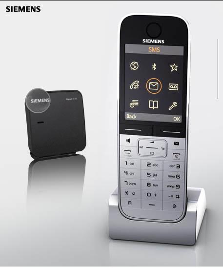nuevos tel fonos fijos siemens casi casi un celular. Black Bedroom Furniture Sets. Home Design Ideas