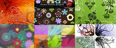 Brushes florales