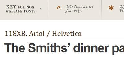 Recursos sobre tipografía