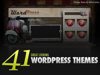 41 themes para WordPress