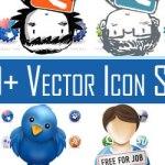 60 paquetes de iconos vectoriales