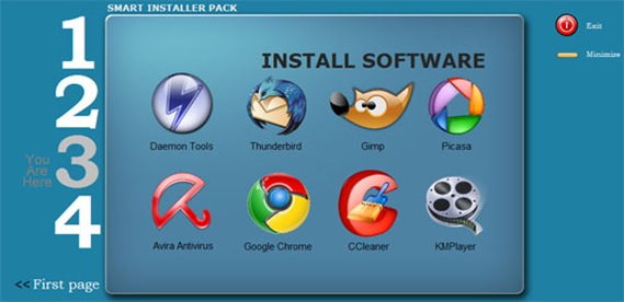 install pack