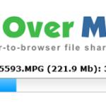 Enviar un archivo de PC a PC desde el navegador con Files Over Miles