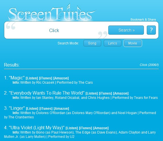 ScreenTunes