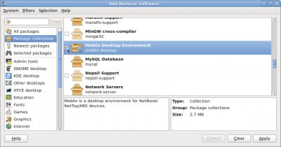 Fedora 12 - PackageKit