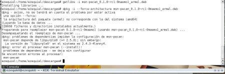 Instalando un paquete 32 bits en un sistema 64 bits con Getlibs