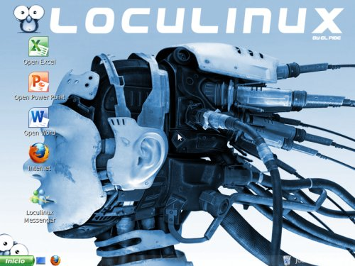 LocuLinux en acción