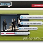 BlipSnips, taggea y comparte segmentos de videos de YouTube