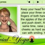 aFacil Yoga, una aplicación para el iPhone que te ayuda con los masajes faciales