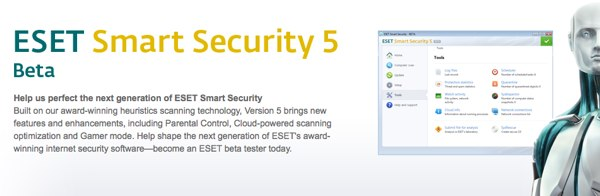 ESET Smart Security 5 Beta