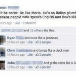 No seas racista, se como Mario [Humor]