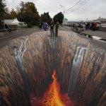 Increíble arte callejero 3D