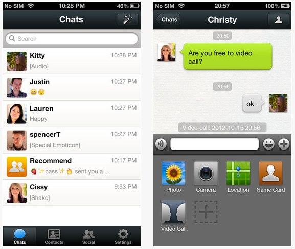 WeChat para iPhone