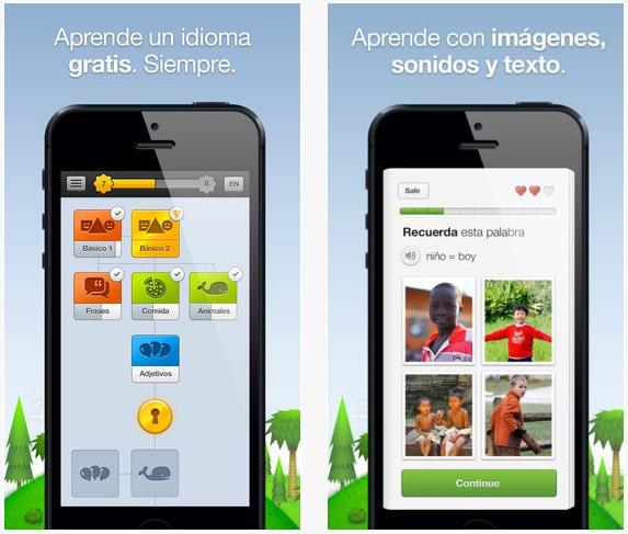 Duolingo para iPhone